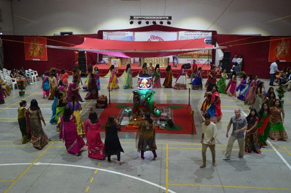 Festival Navratri em Santo António dos Cavaleiros